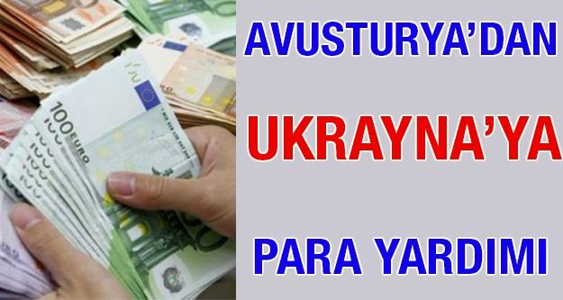 Avusturya'dan Ukrayna'ya para yardımı
