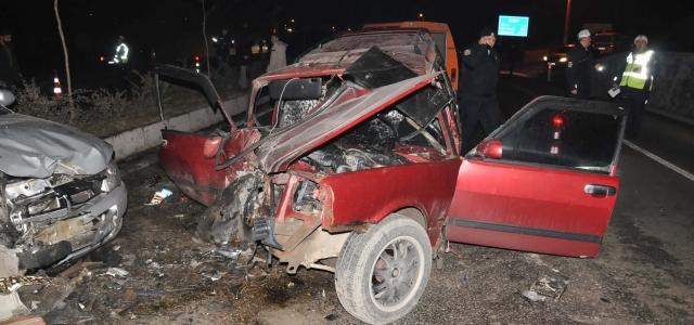 Bartın'da Trafik Kazası