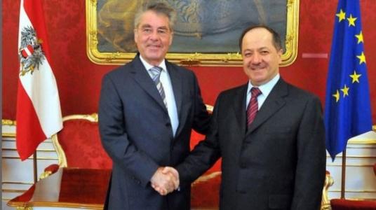 ''Barzani Viyana'dan Bağdat'a sert çıktı''