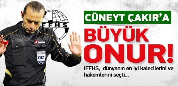 Cüneyt Çakır'a büyük onur!