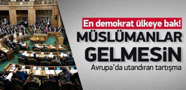 ''Danimarka'da ırkçı tartışma: Müslümanlar gelmesin''