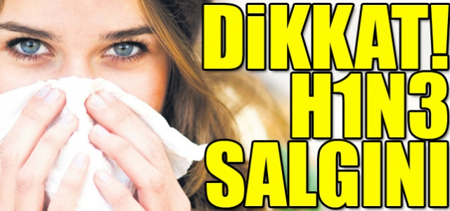 'Dikkat: 'H1N3 virüsü salgını!