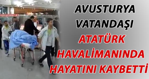 Ecel Avusturya Vatandaşını Atatürk Havalimanında Yakaladı