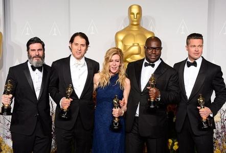 """""""En İyi Film Oscarı """"12 Yıllık Esaret""""in!"""""""