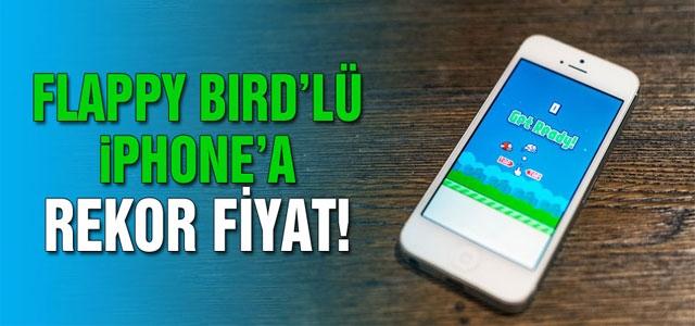 Flappy Bird'lü iPhone'a rekor fiyat!