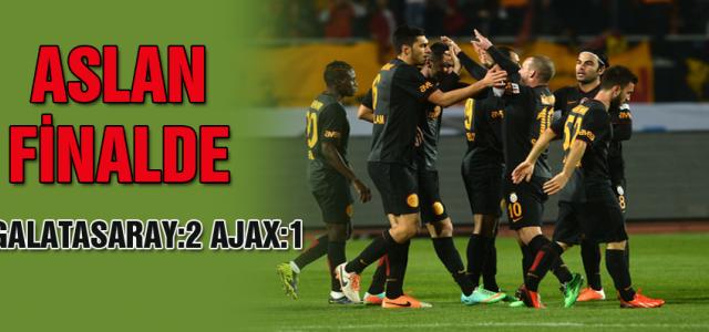 ''Galatasaray finalde''