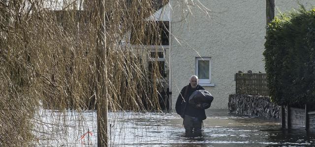 ''İngiltere'de sel felaketi''