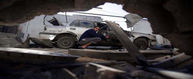 ''İsrail'den Gazze'ye hava saldırısı''