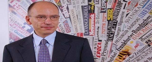 """""""İtalya Başbakanı Letta istifa kararı aldı!"""""""
