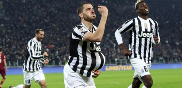 ''Juventus Roma'ya Acımadı''