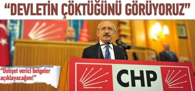 ''Kılıçdaroğlu: 'Dehşet verici bir belge açıklayacağım'