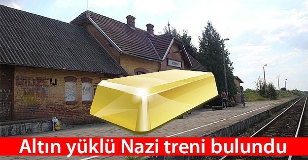 Altın yüklü Nazi treni bulundu