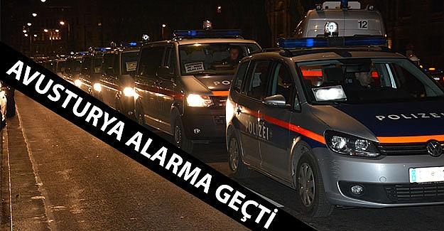 Avusturya Alarma Geçti