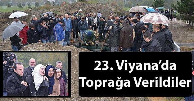 23. Viyana'da Toprağa Verildiler