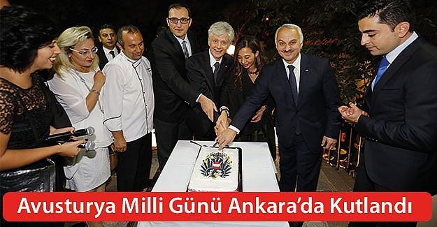 Avusturya milli günü Ankara'da kutlandı