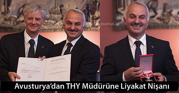 Avusturya'dan, THY Genel Müdürü Kotil'e  liyakat nişanı