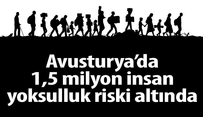 Avusturya'da 1,5 milyon insan yoksulluk riski altında