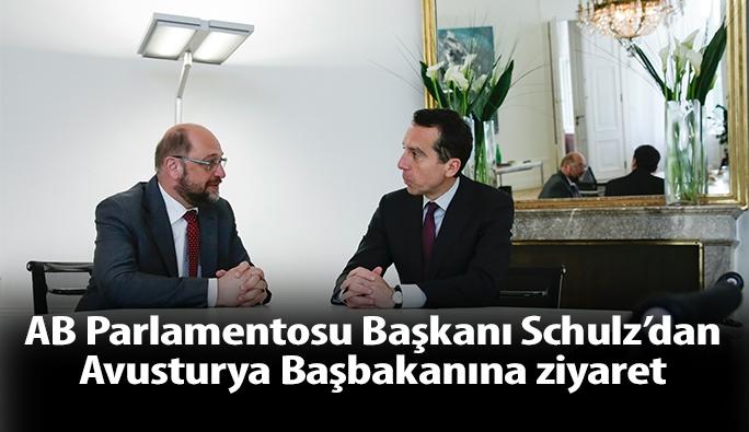 AB Parlementosu Başkanı Schulz, Başbakan Kern'i ziyaret etti