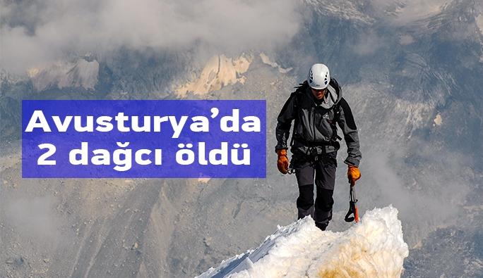 Avusturya'da dağ kazası: 2 ölü