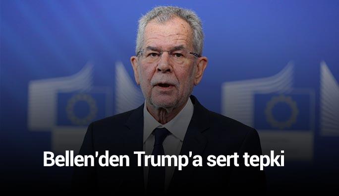 Avusturya Cumhurbaşkanından Trump'a ağır eleştiri