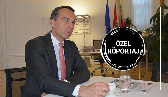 Avusturya Başbakanı Kern'den Gazetemize Önemli Açıklamalar