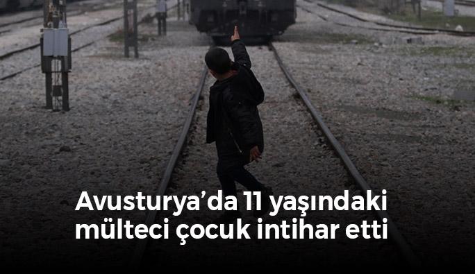 Avusturya'da 11 yaşındaki mülteci çocuk intihar etti