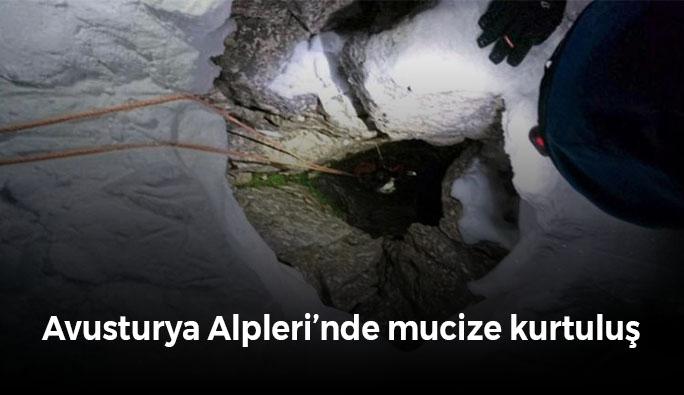 Avusturya Alpleri'nde mucize kurtuluş