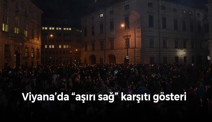 Viyana'da aşırı sağ karşıtı gösteri