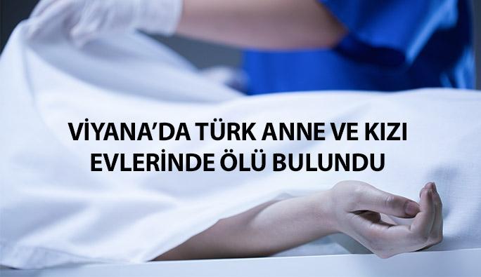 Viyana'da Türk anne ve kızı evlerinde ölü bulundu