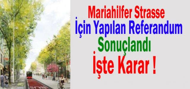 ''Mariahilfer St. İçin Referandum Sonucu Açıklandı''