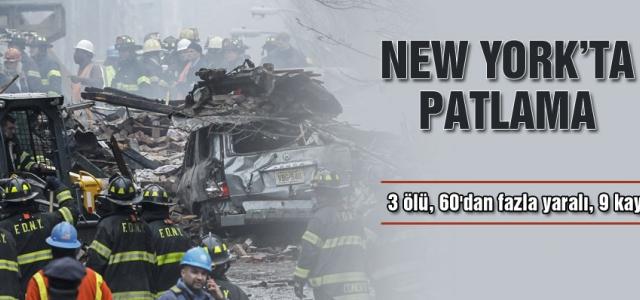 ''New York'ta patlama''