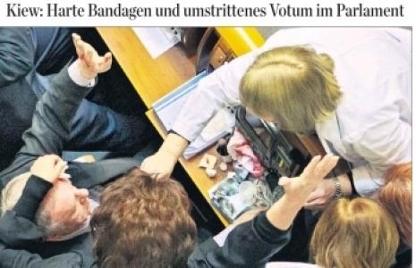 ''Parlamento'da Kan Aktı''