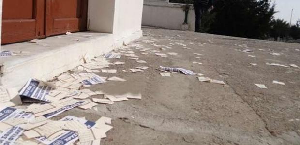 """""""Rodos'ta mezarlığa yırtılmış Kur'an-ı Kerim sayfaları atıldı!"""""""
