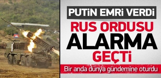 ''Rus Ordusu'nda alarm! Putin emri verdi''