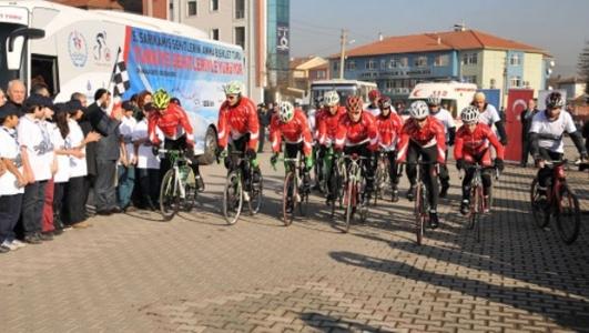 """""""Sarıkamış Şehitlerini Anma Bisiklet Turu"""""""