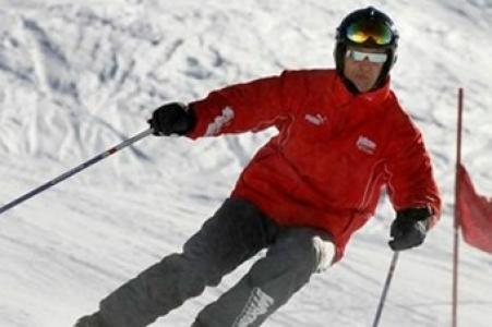 ''Schumacher kaza geçirdi''
