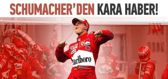 ''Schumacher'den Kötü Haber''