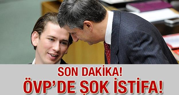 Son Dakika: ÖVP'de Şok İstifa!