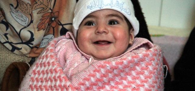 ''Suriyeli bebeğin adı