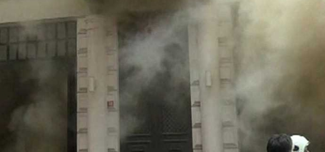 Taksim Rixos Pera'da yangın'