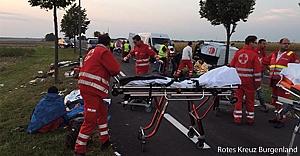 Avusturya#039;da kaza: 37 yaralı