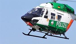 Almanya'da polis helikopteri düştü: 2 ölü