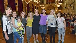 Viyana'da 'Anne Almanca Öğreniyor' kursu bu yıl 600 mezun verdi