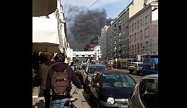 Viyana'da büyük yangın: Söndürme...
