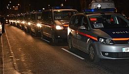 Viyana polisi bu gece sokağa inecek