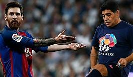 'Maradona ve Messi'den daha iyiydim'