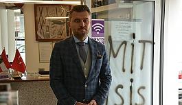UETD Avusturya Başkanı Karakoca'nın işletmesine 'Yazılı' saldırı