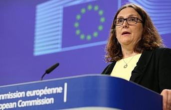 AB Komisyonu Ticaretten Sorumlu Üyesi Malmström: ABD burada tehlikeli bir oyun oynuyor