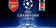 Arsenal - Beşiktaş maçının yayın kanalı belli oldu