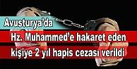 Avusturyada Hz. Muhammede hakaret...